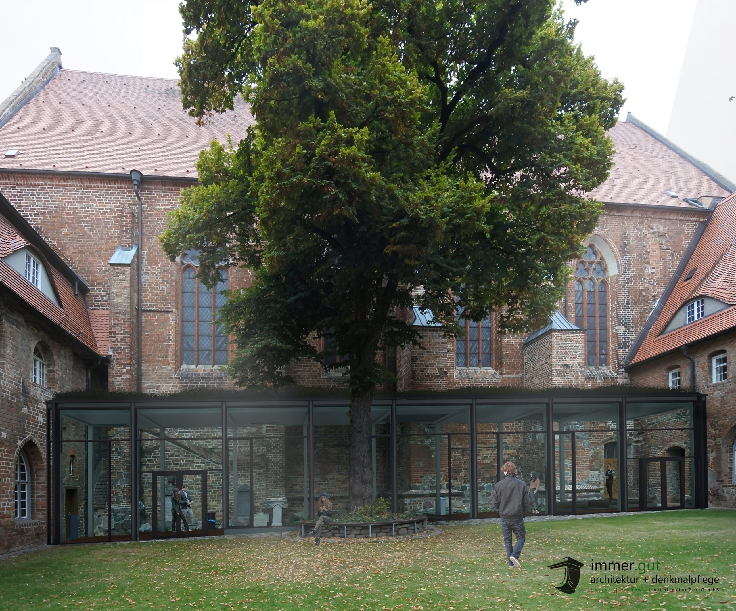 Dominikanerkloster in Prenzlau wird ergänzt